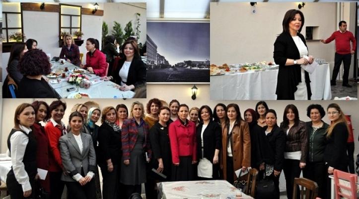 UTSO Kadın Girişimciler Kurulu Dünya Emekçi Kadınlar Günü İçin Toplandı