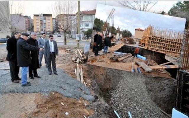 Vali Erden, Yeni Müze İnşaatı'nda İncelemelerde Bulundu
