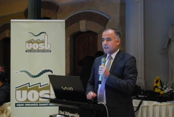 Zaman Gazetesi Ekonomi Yazarı Turhan Bozkurt Uşak'ta OSB'nin Düzenlediği Yemekte Konuştu