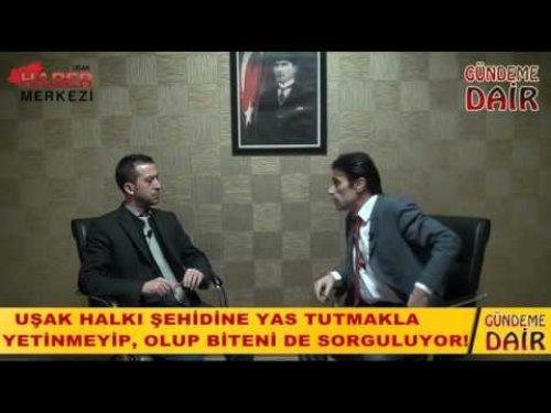 Nurullah Çavuşoğlu: Uşak Halkı Şehidine Cenazeye Katılarak, Dualarıyla Sahip Çıkacaktır, Göreceksiniz!